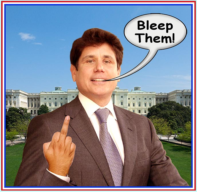 blagojevich shoots bird