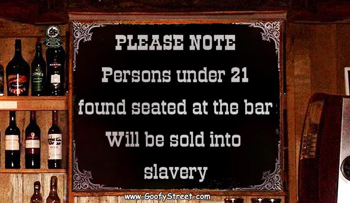 sign slavery